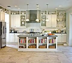 kitchen island with open shelves kitchen island shelves kitchen island with shelves size of