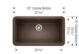 blanco ikon apron sink blanco ikon 33 waterflo