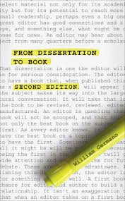 from dissertation to book second edition ebook by william germano