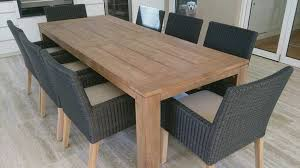 wood patio table plans eucalyptus patio set outdoor furniture wood dining intended for