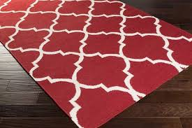 Brown And White Area Rug Weavers York Mallory Awhd1014 White Area Rug