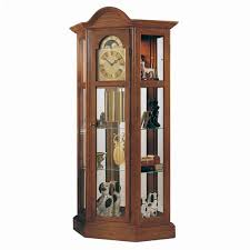 German Grandfather Clocks Richardson Ii Curio Grandfather Clock 9702 Premier Clocks