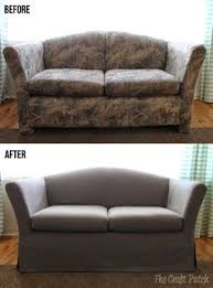 Leather Slipcover For Couch Couch Looking Drab But Don U0027t Want To Spend A Fortune On A New One