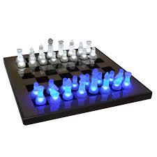 lumisource led glow chess set