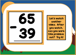 two digit subtraction w regrouping smart notebook lesson