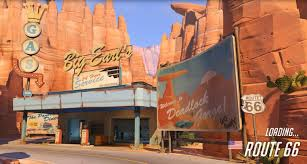 Route 66 Map Overwatch Beta New Map Route 66 Youtube