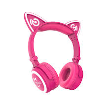 light up cat headphones unicat kids cat ear headphones best gift choice mindkoo