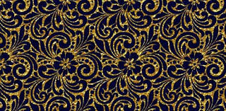 30 scrapbooking paper in blue and gold