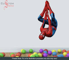 spiderman wall decal large color walls your house