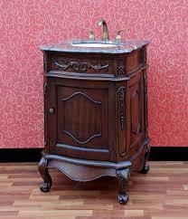 24 Bathroom Vanity With Drawers Bathroom Artistic Brown 24 Inch Bathroom Vanity Cabinet With