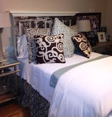 bright vintage headboards mode dallas farmhouse spaces decorating