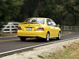 mitsubishi yellow mitsubishi lancer ralliart 2004 pictures information u0026 specs
