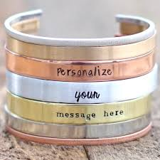 personalized cuff bracelet personalized cuff bracelets if only pretty