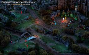 Poe Maps Encampment Prologue Pillars Of Eternity Walkthrough With