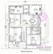 home design in 2d best 5 bedroom contemporary house with plan kerala home design and
