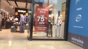 strellson store closure yorkdale mall toronto canada