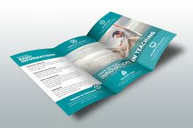 brochure design templates for education education brochure template 25 free psd eps indesign format