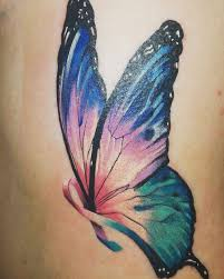 collection of 25 butterfly with thyroid cancer ribbon