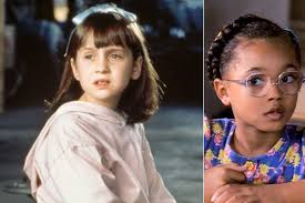 matilda u0027 stars mara wilson and kiami davael reunited in touch weekly