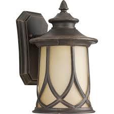 Copper Landscape Lighting Fixtures Progress Lighting Resort Collection 1 Light 8 5 Inch Aged Copper