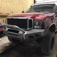 1996 ford f250 7 3 weld it yourself ford bumper move