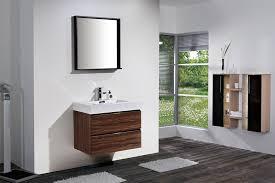 Walnut Bathroom Vanity 30 Walnut Wall Mount Modern Bathroom Vanity