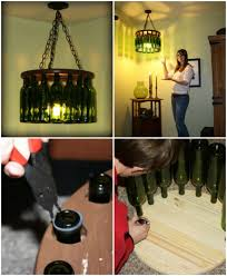 How To Make A Chandelier Out Of Beer Bottles 16 Genius Diy Lamps And Chandeliers To Brighten Up Your Home Diy