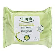 simple kind to skin cleansing wipes 25 count walmart canada