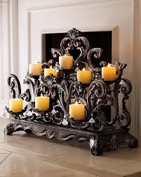 horchow home decor fireplace candelabrum horchow decoration deko pinterest
