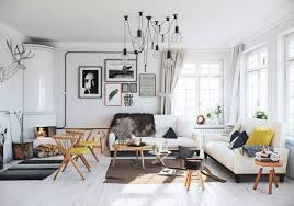 scandinavian home interior design airy scandinavian apartment with traditional wood stoves digsdigs