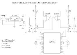 simple line following robot without microcontroller robotics