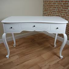 white wood desk with drawers contemporary satin white 3 drawer elegant desk dressing table carved