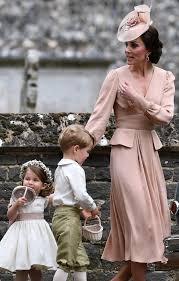 Pippa Wedding Kate Wears Pink Alexander Mcqueen Dress To Pippa Middleton U0027s Wedding