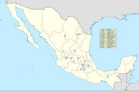 Mls Teams Map Mexico Liga Mx The Mexican 1st Division In Fútbol Location Map