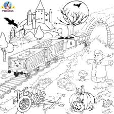 Free Halloween Coloring Page by Difficult Halloween Coloring Pages Aecost Net Aecost Net
