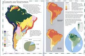 Map Of Sounth America by Climate South Americafree Maps Of South America