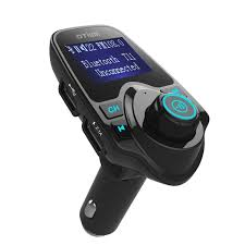 charge your phone bluetooth fm transmitter play music receive calls and charge
