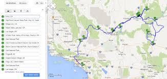Death Valley Map Recap Southwest Road Trip La U003e Death Valley U003e Zion U003e Bryce