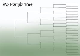 family tree blank template exol gbabogados co