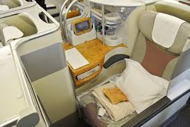 Emirates Airbus A380 Interior Business Class Flying With The One Percent