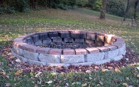 Build A Firepit Building A Firepit House Plans And More