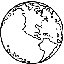 earth coloring pages children of the world page map educations