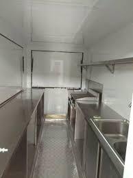 outdoor fast food kiosk food kitchen truck mobile fryer food cart