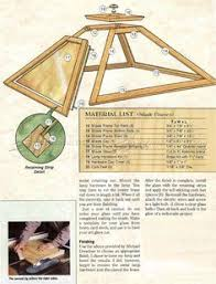 Woodworking Plans by 2814 Prairie Table Lamp Plans Woodworking Plans Craftsman