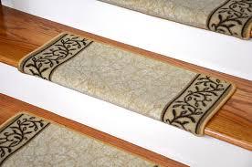 dean modern diy bullnose wraparound non skid carpet stair treads