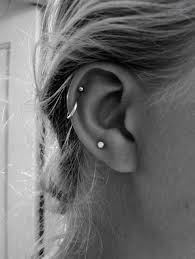 cartilage hoop i absolutely the stud cartilage piercing and the hoop helix