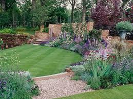 Cheap Landscaping Ideas Backyard Decor Of Backyard Lawn Ideas Cheap Landscaping Ideas For Back Yard