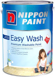 nippon paint easywash with teflon 5l 1378 colours interior
