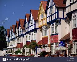 guest houses paignton devon england europe stock photo