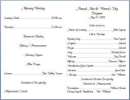 church programs templates bulletin format sle tolg jcmanagement co